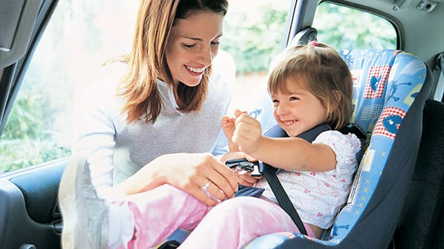 children seatbelts spain