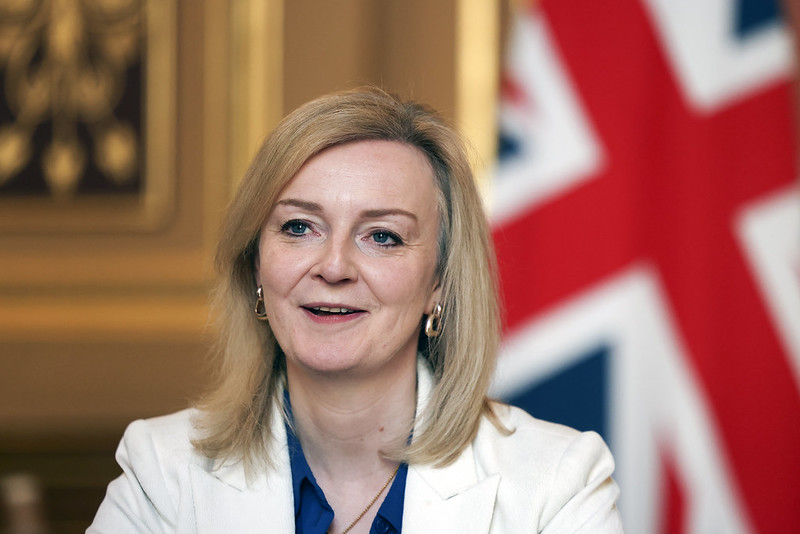 Liz Truss international trade minister