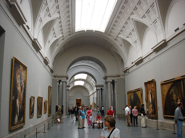 Prado Museum Madrid Interior